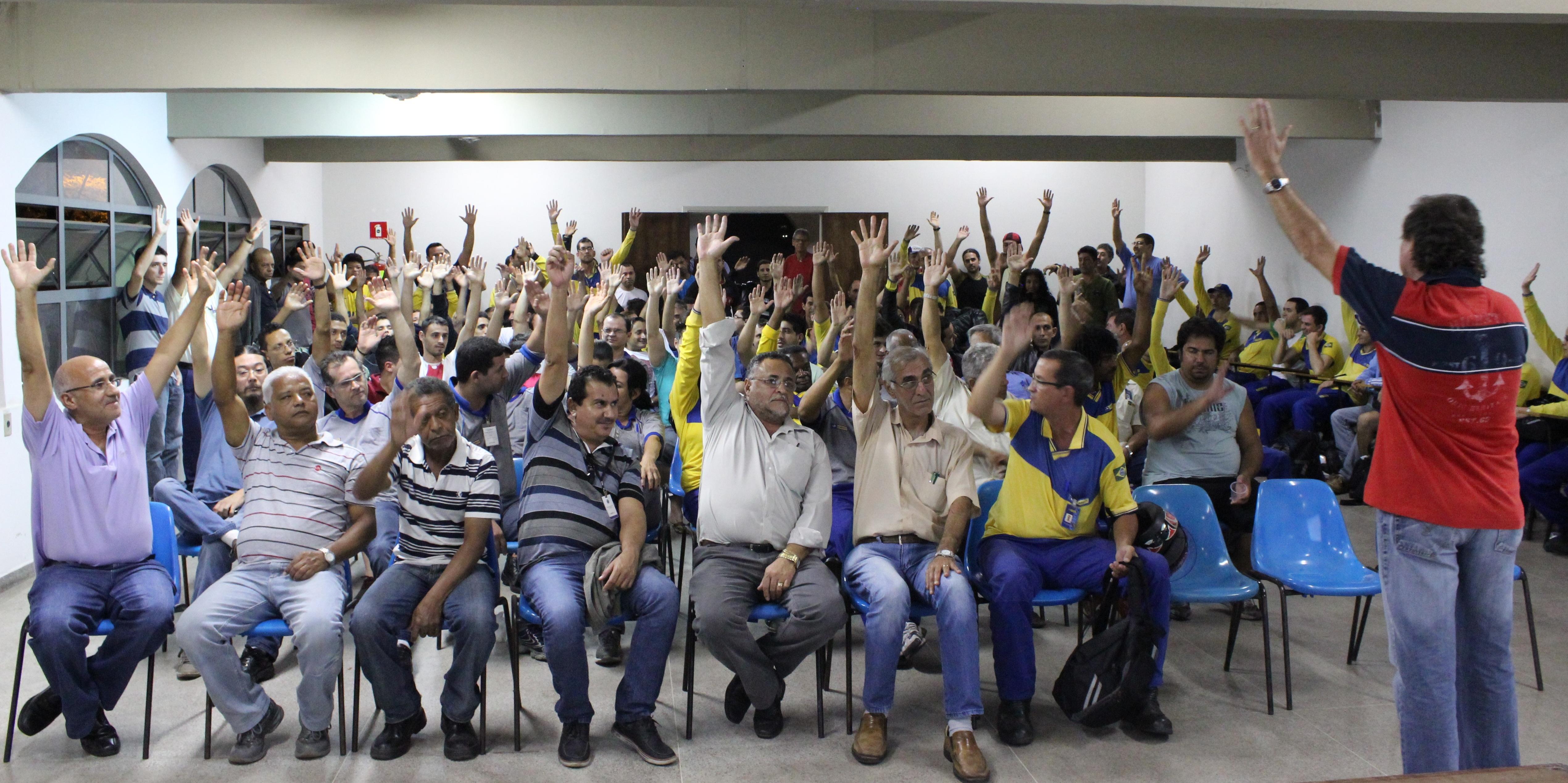 Assembleia desta terça-feira declara GREVE dos trabalhadores