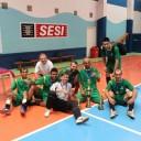 Em uma final eletrizante, CDD Falcão vence e leva a taça SINDECTEB de Futsal