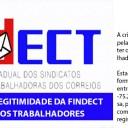 JULGAMENTO SOBRE A LEGITIMIDADE DA FINDECT PARA REPRESENTAR OS TRABALHADORES DA SUA BASE
