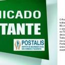 POSTALIS: Informe aos Trabalhadores participantes do Plano BD