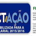Campanha Salarial 2015/2016: Confira o Jornal FINDECT em Ação