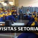 SINDECTEB marcando presença nas Visitas Setoriais pela região