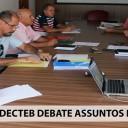 Diretoria SINDECTEB debate assuntos da categoria