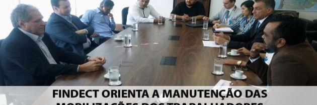 Após reunião com ECT e Ministério das Comunicações, FINDECT orienta a manutenção das mobilizações dos Trabalhadores