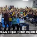 Trabalhadores dos Correios de Bauru e região rejeitam proposta da ECT e mantém greve