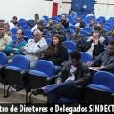 Diretores e Delegados SINDECTEB participam de encontro e dão início à Campanha Salarial 2017
