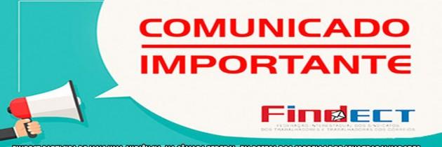 FINDECT participa de mais uma audiência, na Câmara Federal, em defesa dos Correios e de seus Trabalhadores