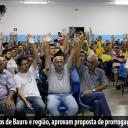 Em assembleia, trabalhadores dos Correios de Bauru e região, aprovam proposta de prorrogação do Acordo Coletivo de Trabalho