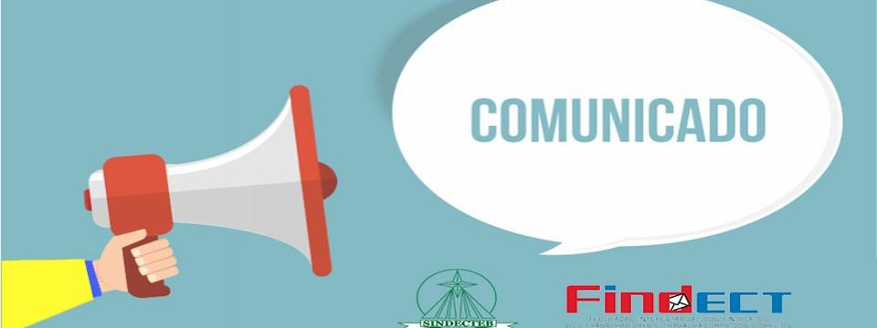 Comunicado SINDECTEB – Compensação das horas de greve