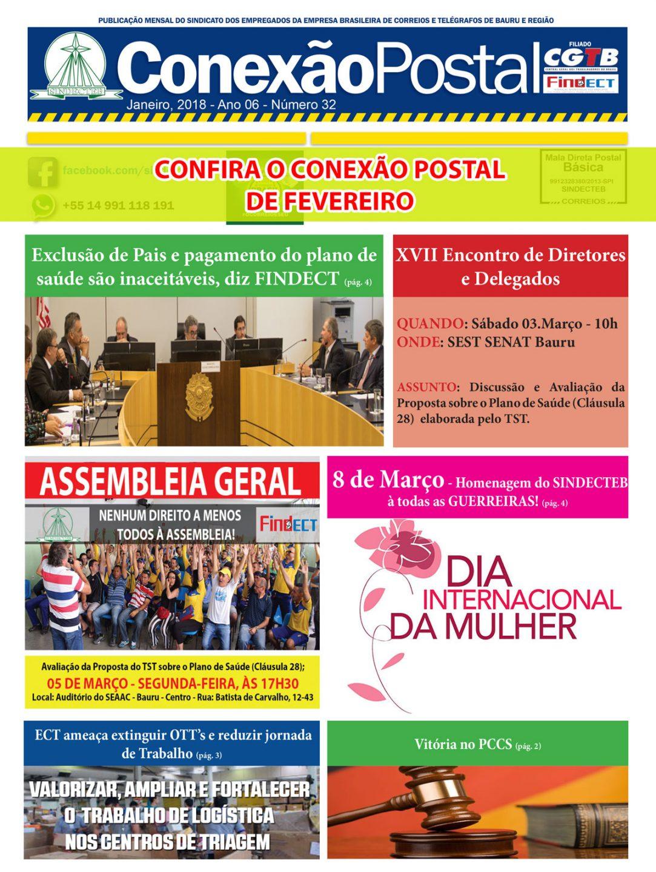 Conexão postal Fevereiro 2018