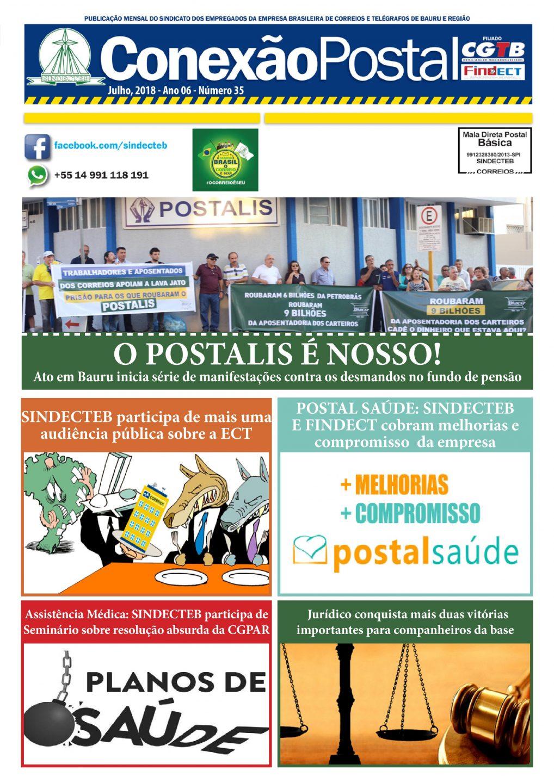 Conexão postal Julho 2018