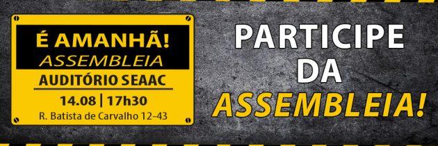 PARTICIPE DA ASSEMBLEIA!