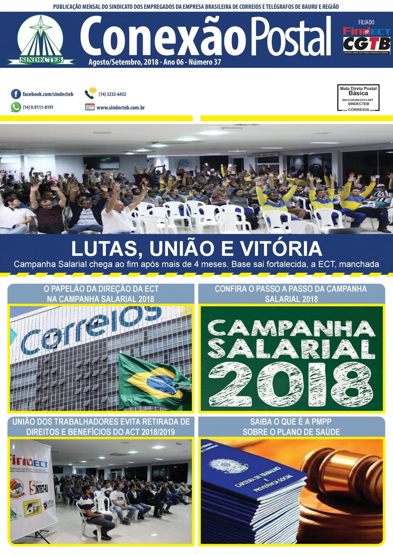 Conexão postal Agosto e Setembro 2018