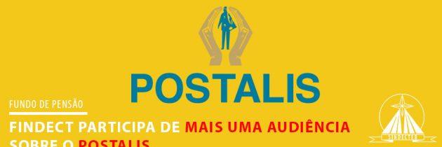 FINDECT participa de mais uma audiência sobre o Postalis