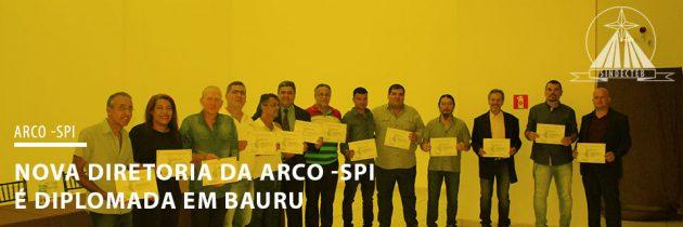 Nova diretoria da ARCO é diplomada em Bauru