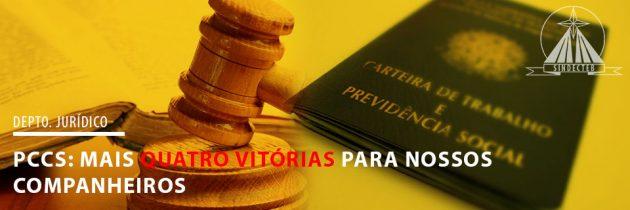 PCCS: Mais 4 vitórias