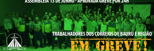 Ecetistas de Bauru e região votam a favor da greve por 24h
