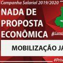 ECT não apresenta proposta e desafia união dos Trabalhadores