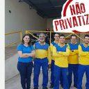 Ecetistas fazem mobilização contra a Privatização