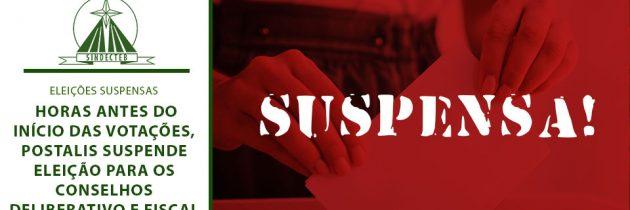 Horas antes do início das votações, POSTALIS suspende eleição para os Conselhos Deliberativo e Fiscal