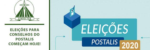 Eleições para Conselhos do POSTALIS começam hoje