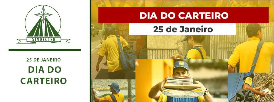 25 de Janeiro – Dia do Carteiro