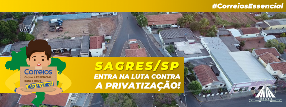 Sagres/SP: Câmara Municipal apoia nossa luta contra a privatização!