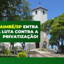Guaimbê: Câmara Municipal apoia nossa luta contra a privatização!